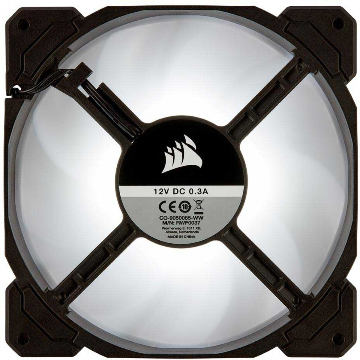 Cooler para Gabinete Corsair AF140, LED White 140mm, CO-9050085-WW