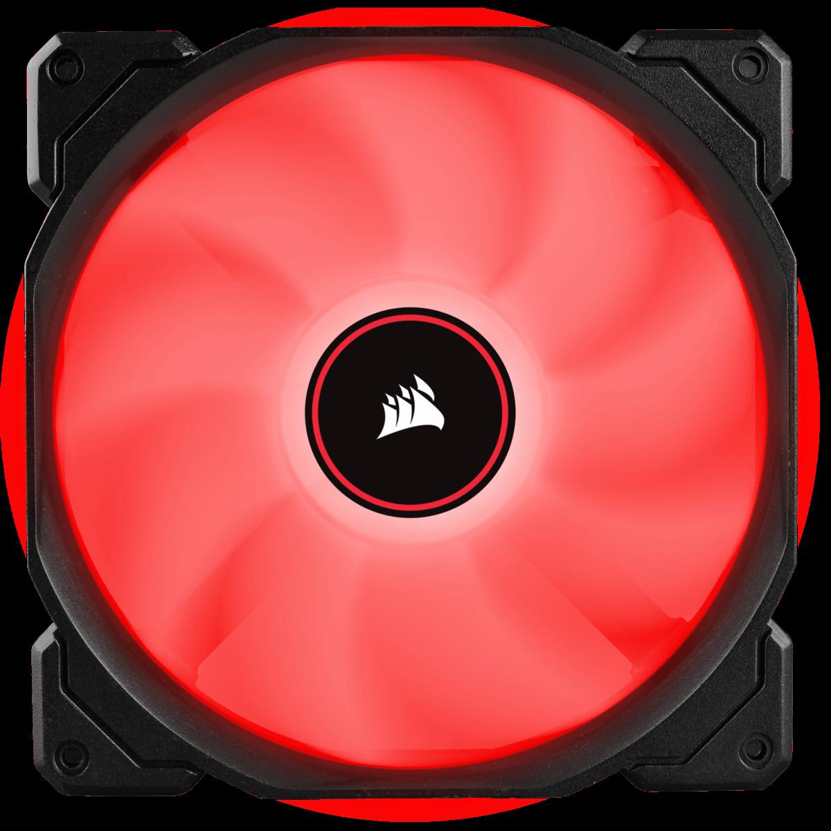 Cooler para Gabinete Corsair AF140, LED Red, 140mm, CO-9050086-WW