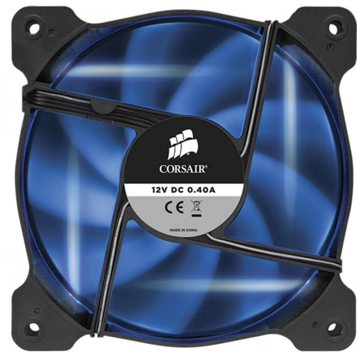 Kit Fan com 2 Unidades Corsair Air AF120 Quiet Edition, LED Azul 120mm, CO-9050016-BLED