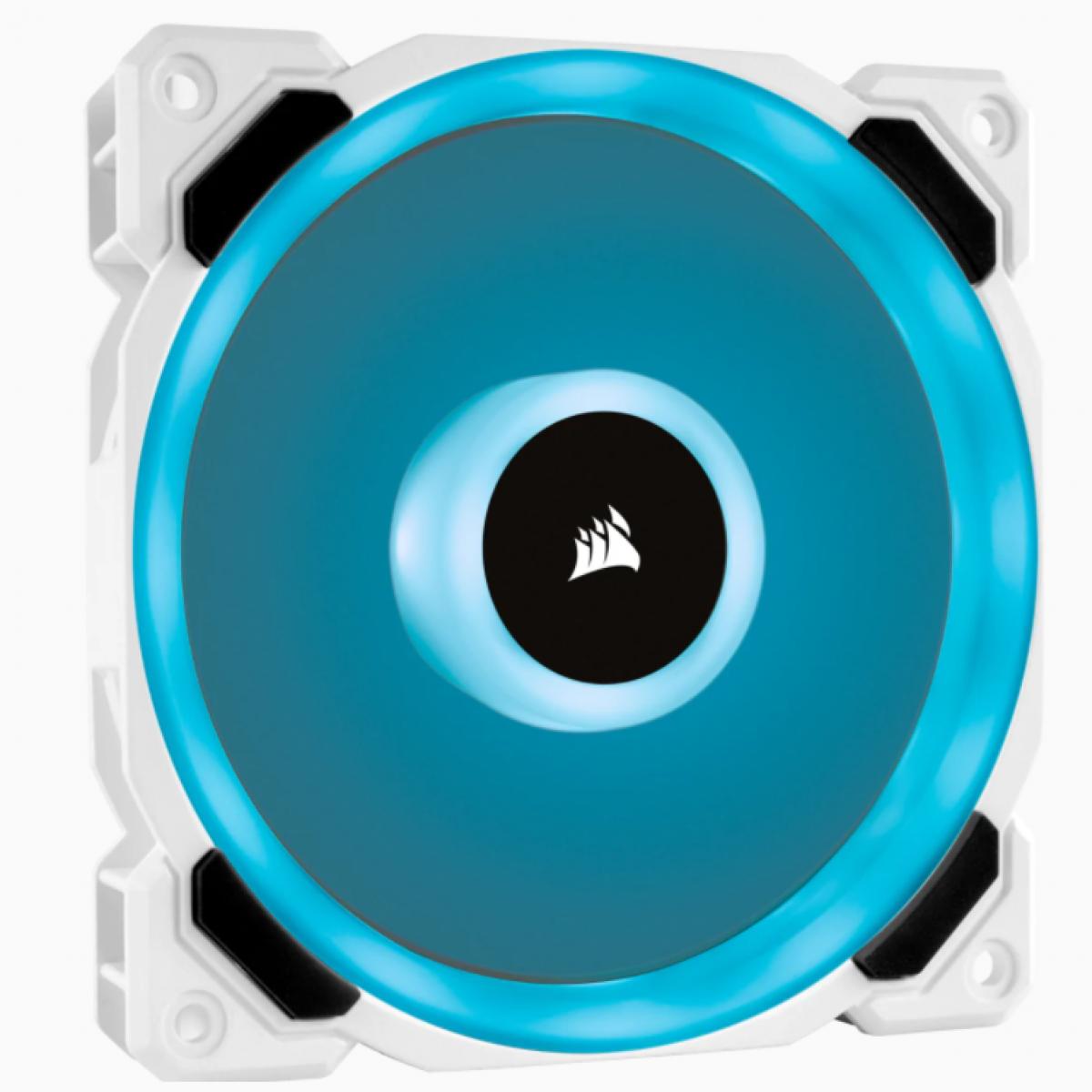 Cooler para Gabinete Corsair LL120, RGB, 120mm, White, CO-9050091-WW
