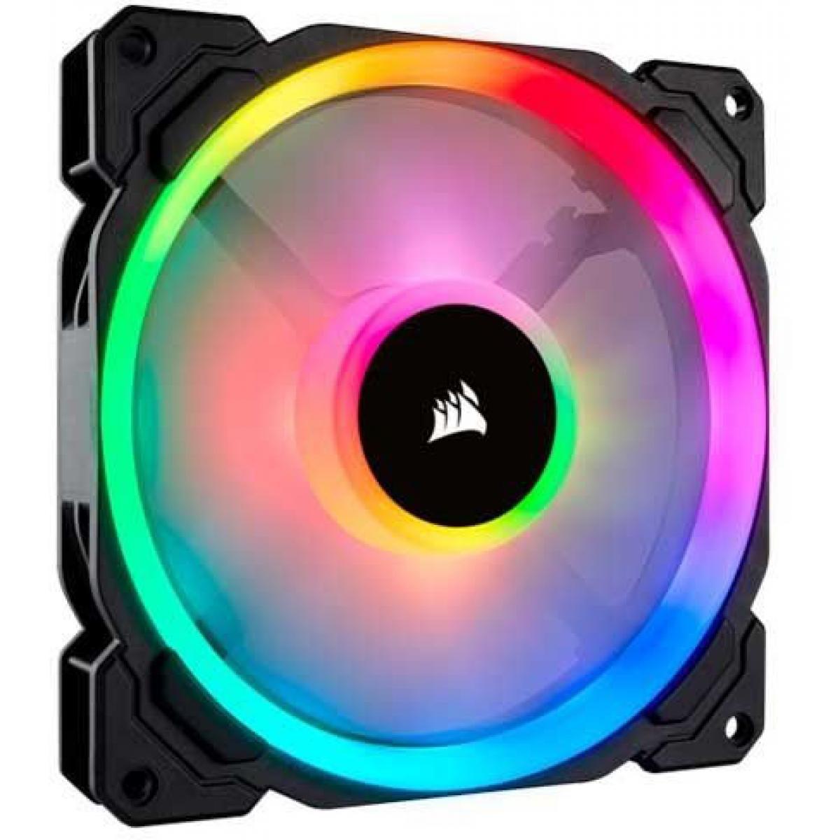 Cooler para Gabinete Corsair LL140 CO-9050073-WW RGB 140mm