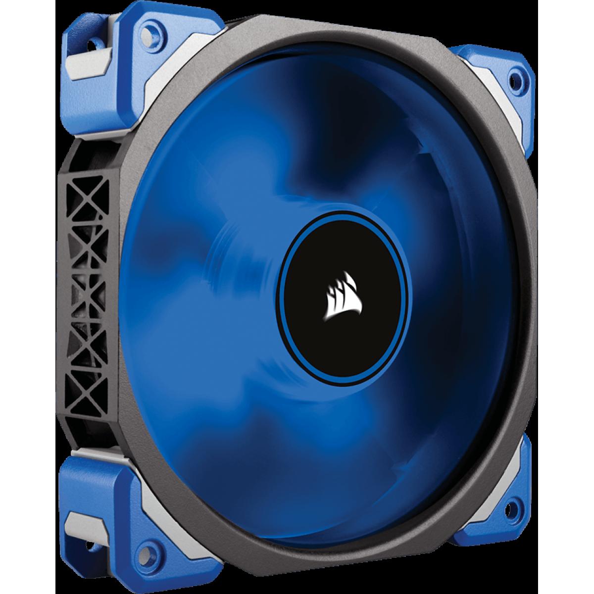 Cooler para Gabinete Corsair ML120 Pro Pwm, LED Blue 120mm, CO-9050043-WW
