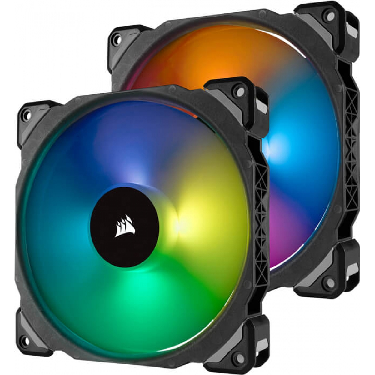 Kit Fan com 2 Unidades Corsair ML140 PRO, RGB 140mm, CO-9050078-WW
