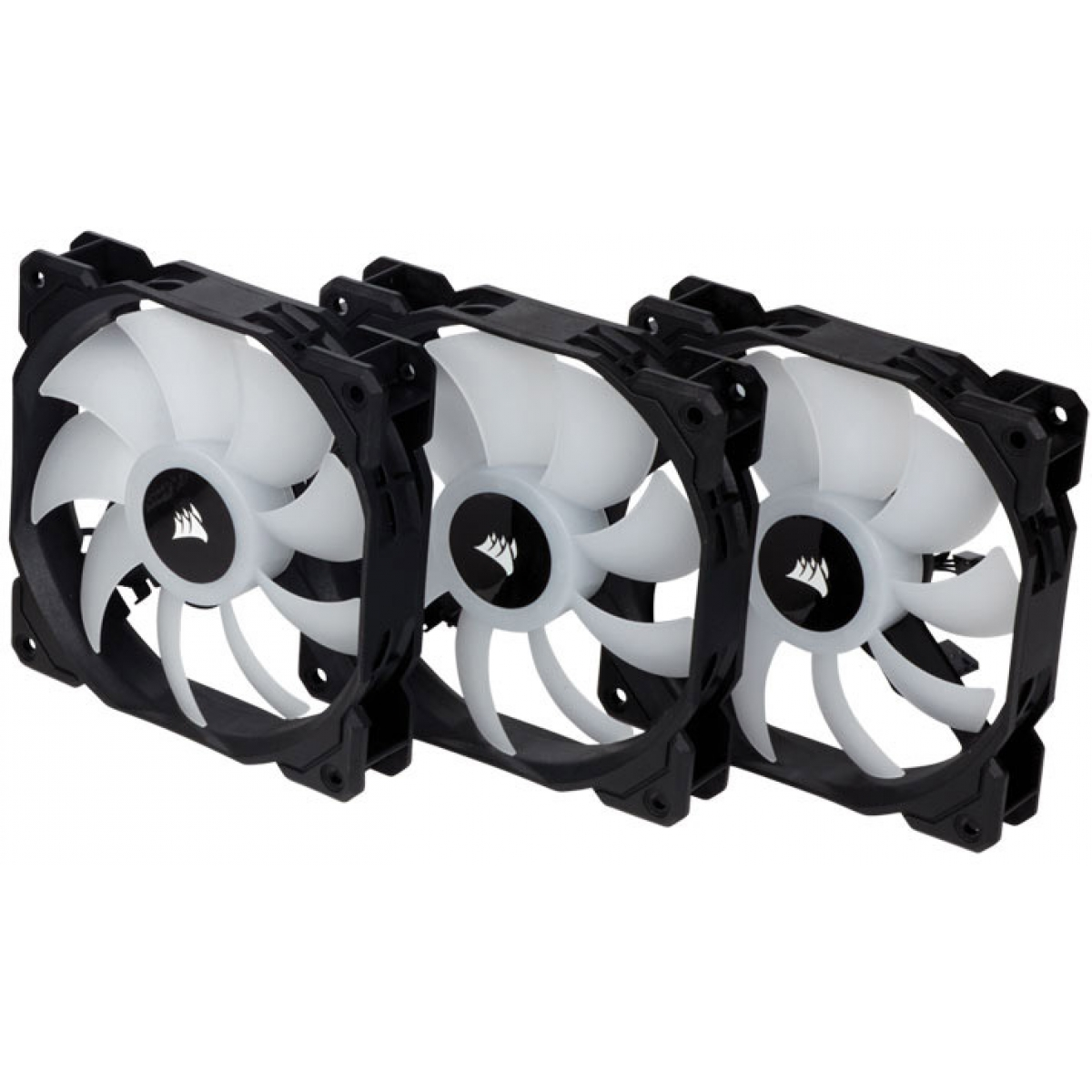 Kit fan com 3 Unidades Corsair SP120 RGB, 120mm, com Controlador, CO-9050061-WW
