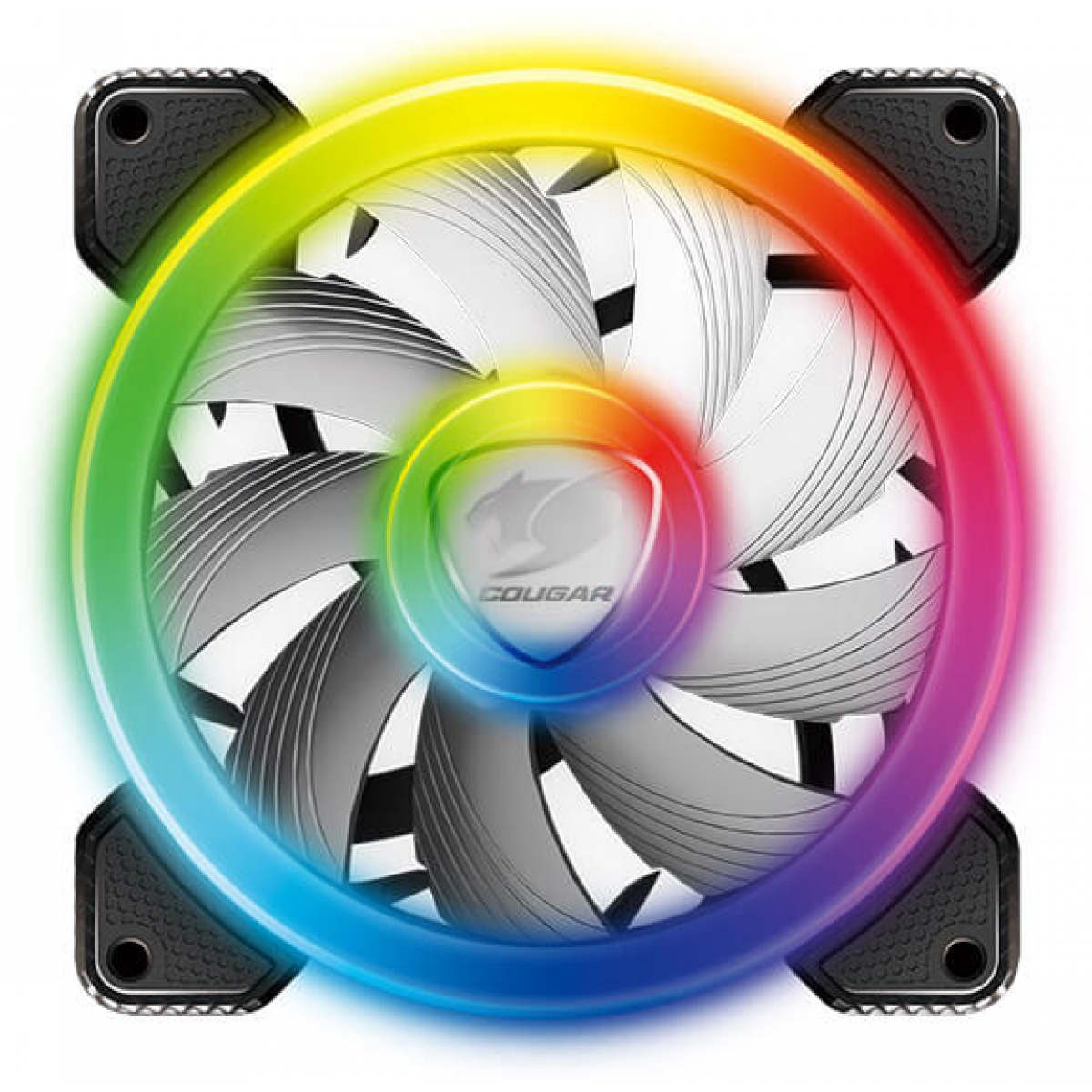 Cooler para Gabinete Cougar Vortex RGB SPB 120mm, CF-V12SPB-RGB