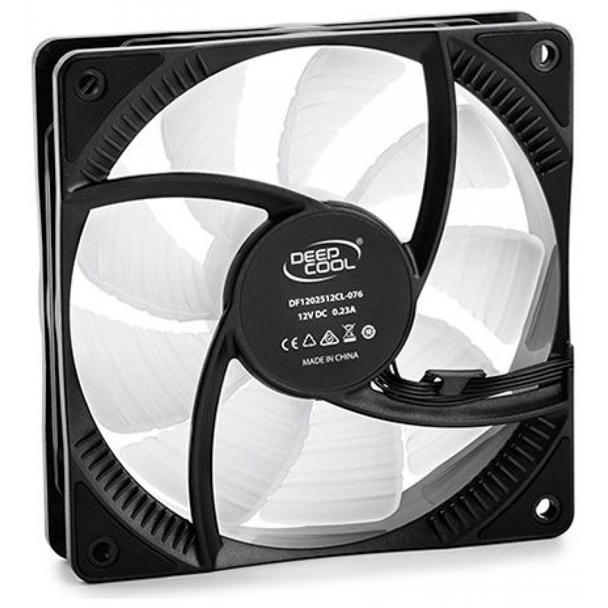 Cooler para Gabinete Deepcool RF120 RGB 120mm, DP-FRGB-RF120-1C