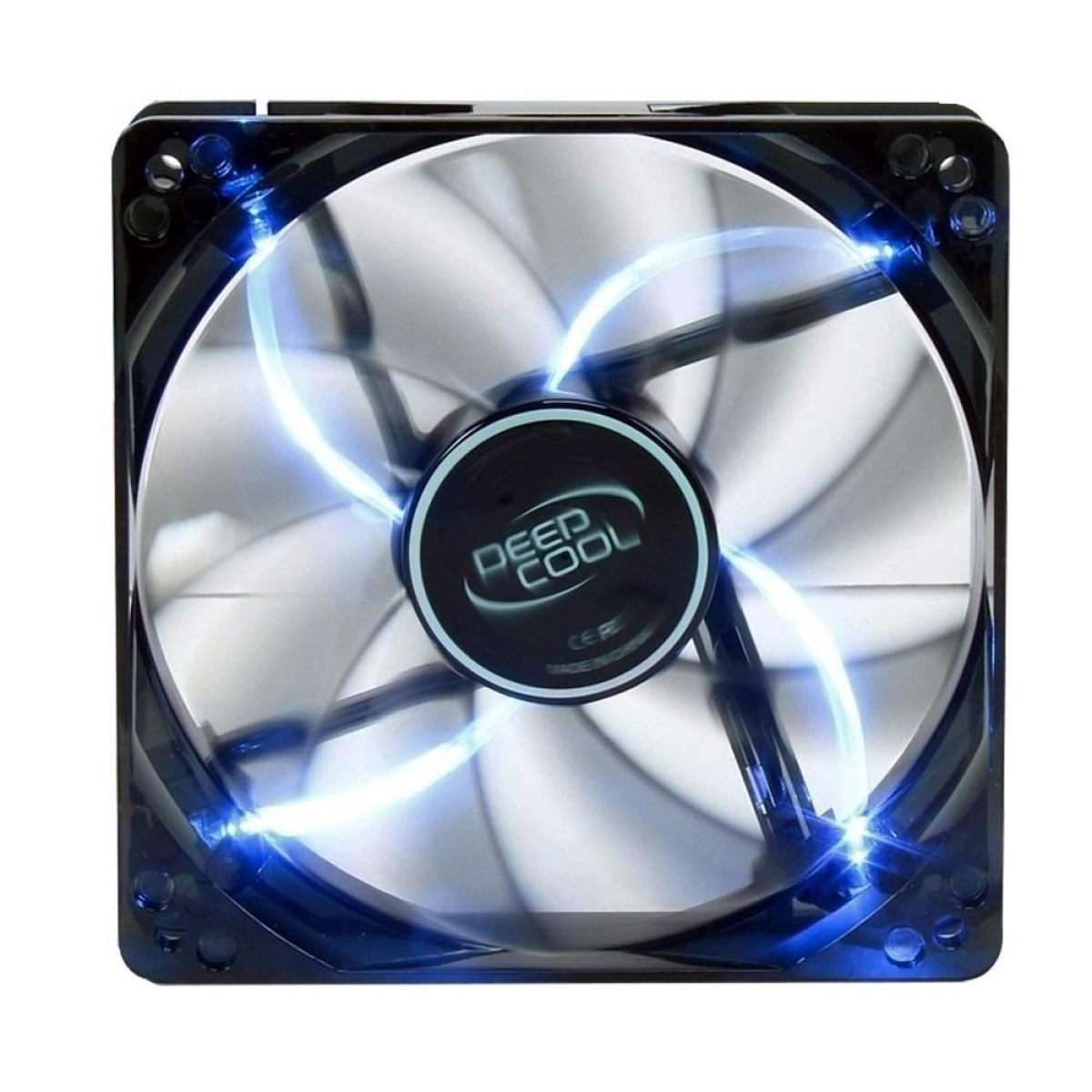 Cooler para Gabinete Deepcool Wind Blade, LED Blue 120mm, DP-FLED-WB120
