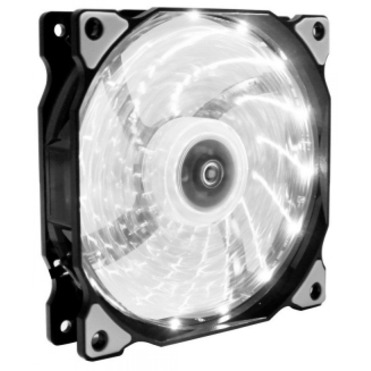 Cooler Para Gabinete Gamemax 12cm LED Branco GMX-AF12W