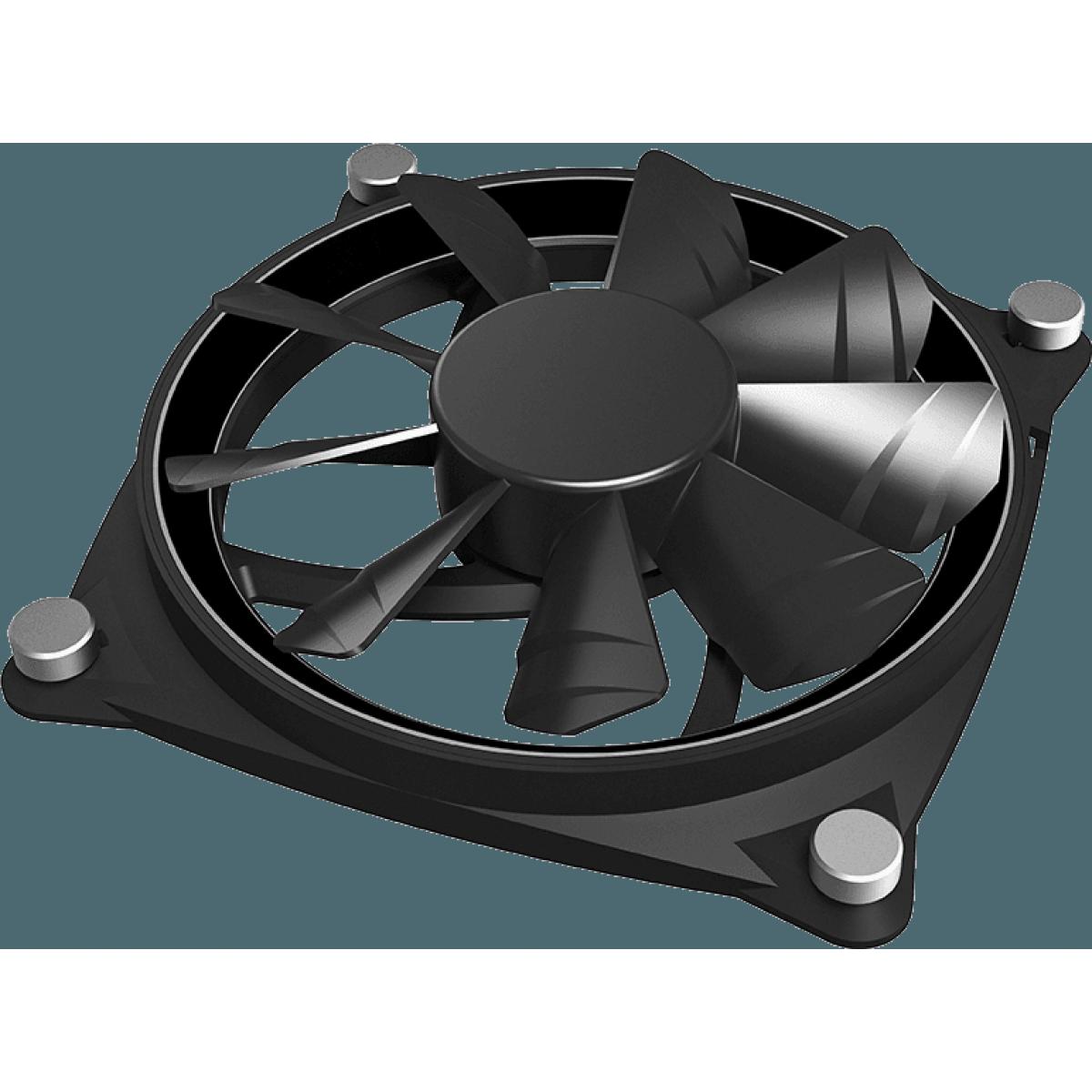 Cooler Para Gabinete Gamemax Big Bowl, ARGB 120mm, GMX-12-DBB