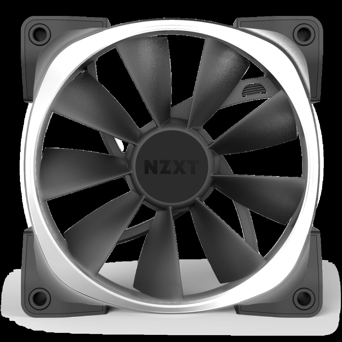 Cooler para Gabinete NZXT AER RGB 2 120mm, HF-28120-B1