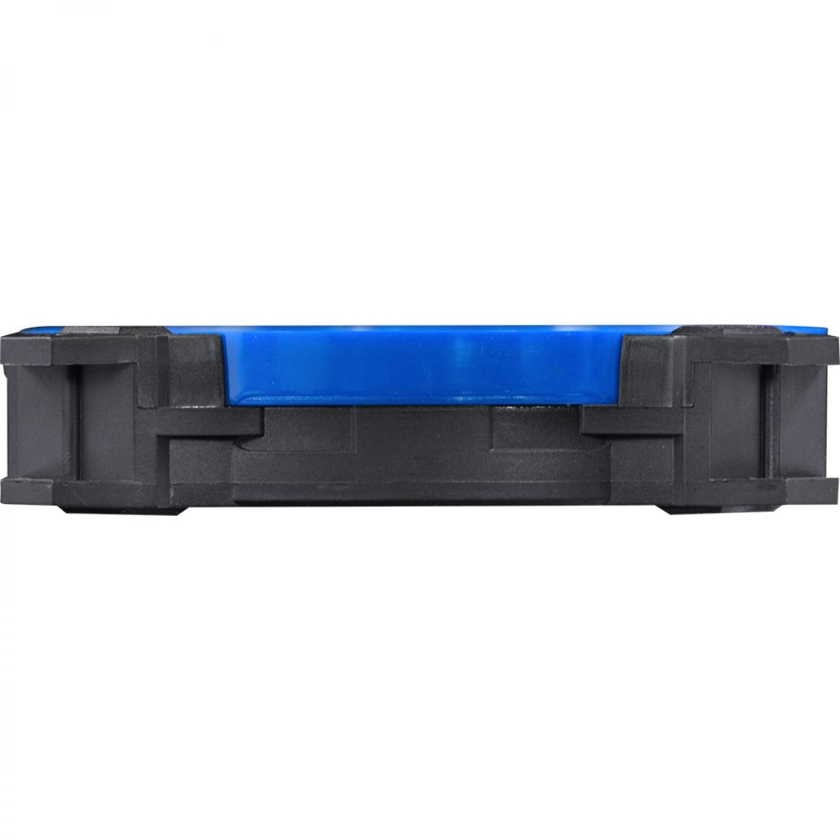 Cooler para Gabinete Pcyes Calafrio Rings 120MM FCAL120ANCL COM ANÉIS COLORIDOS INTERCAMBIÁVEIS