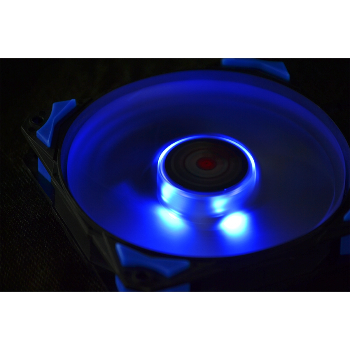 Cooler para Gabinete Pcyes Fury F4, LED Blue 120mm, F4120LDAZ
