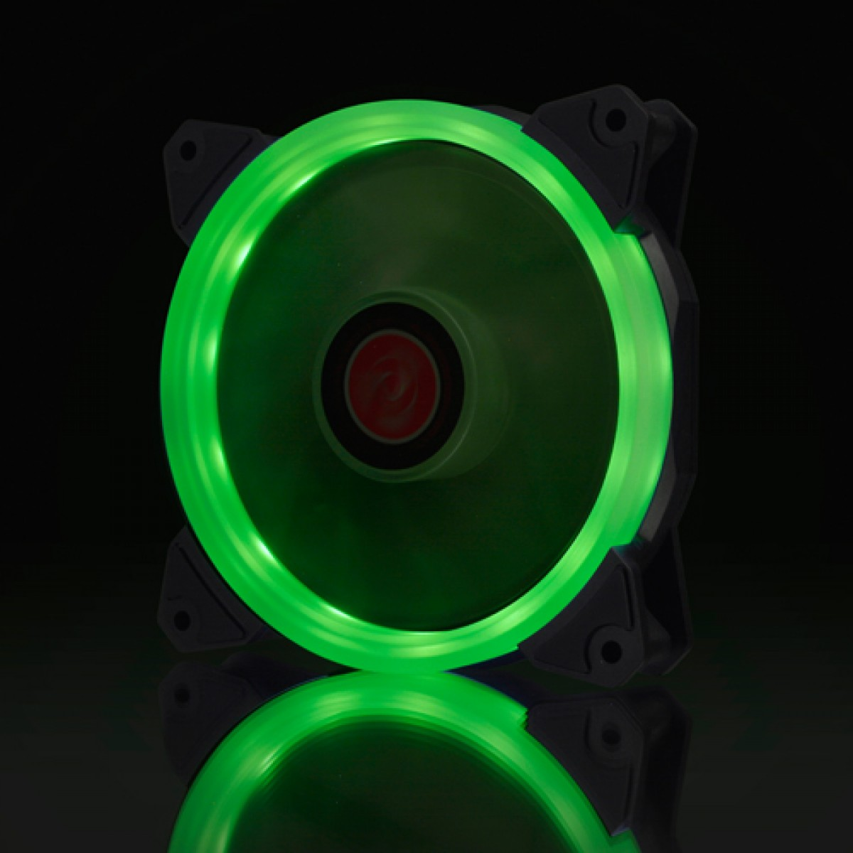 Cooler para Gabinete Raijintek Iris 12, Green, 120mm, 0R400042
