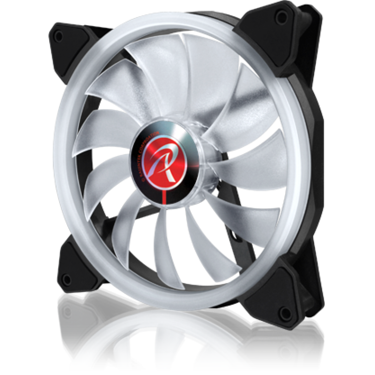 Cooler para Gabinete Raijintek Iris 14 RBW ADD, ARGB, 140mm, 0R40B00113