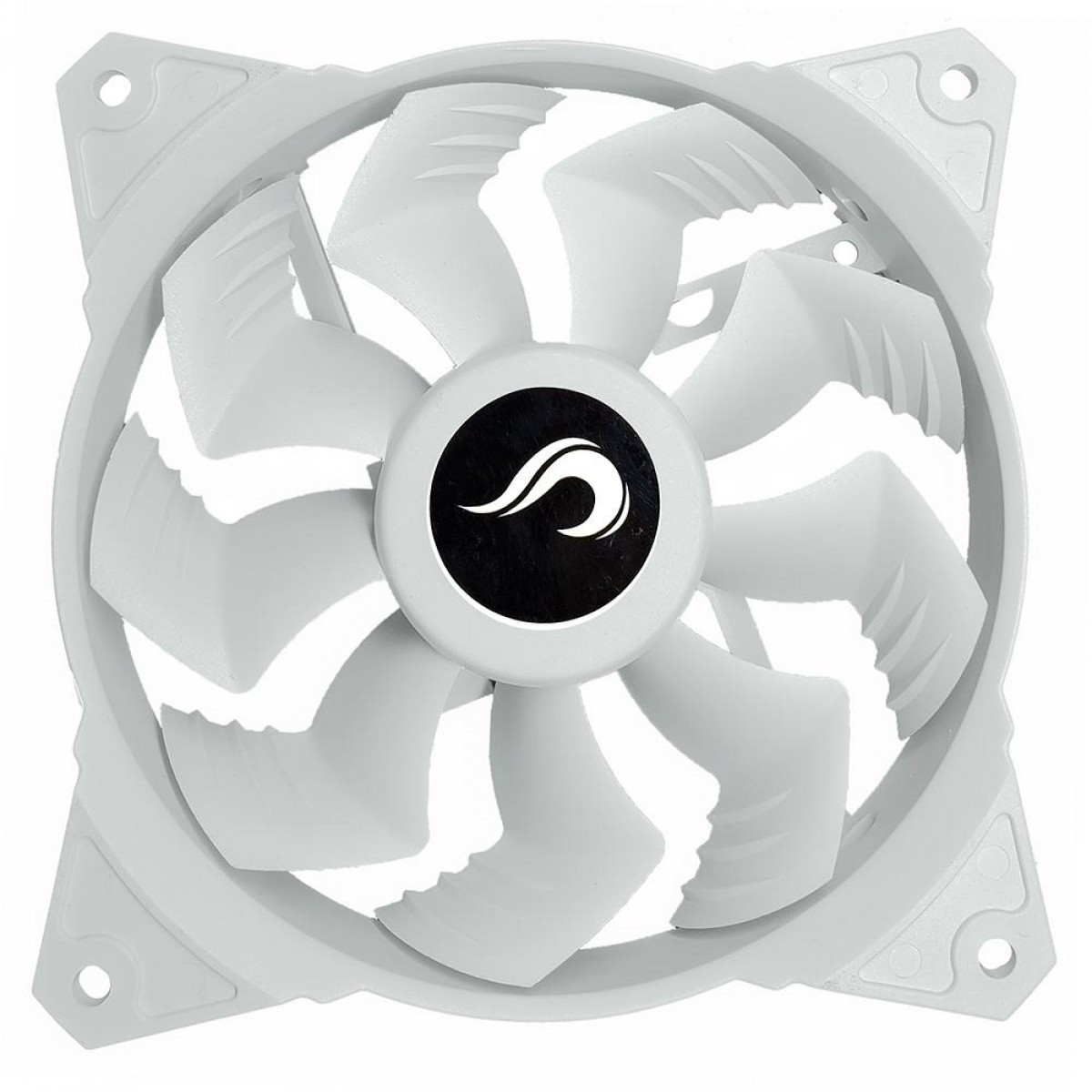 Cooler Para Gabinete Rise Mode White Frost 120mm, RM-FN-02-FR