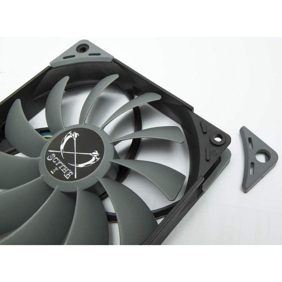 Cooler para Gabinete Scythe Kaze Flex 120 PWM, 120mm 1.200 RPM, SU1225FD12M-RHP