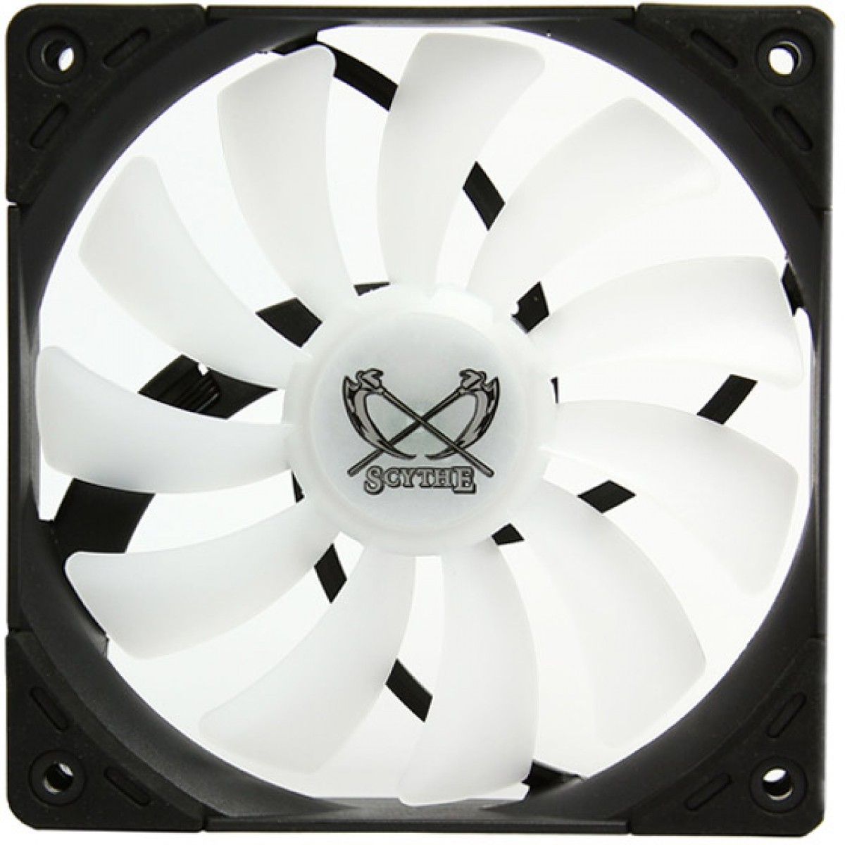 Cooler para Gabinete Scythe Kaze Flex 120 RGB, 120mm 1.800 RPM, SU1225FD12HR-RN