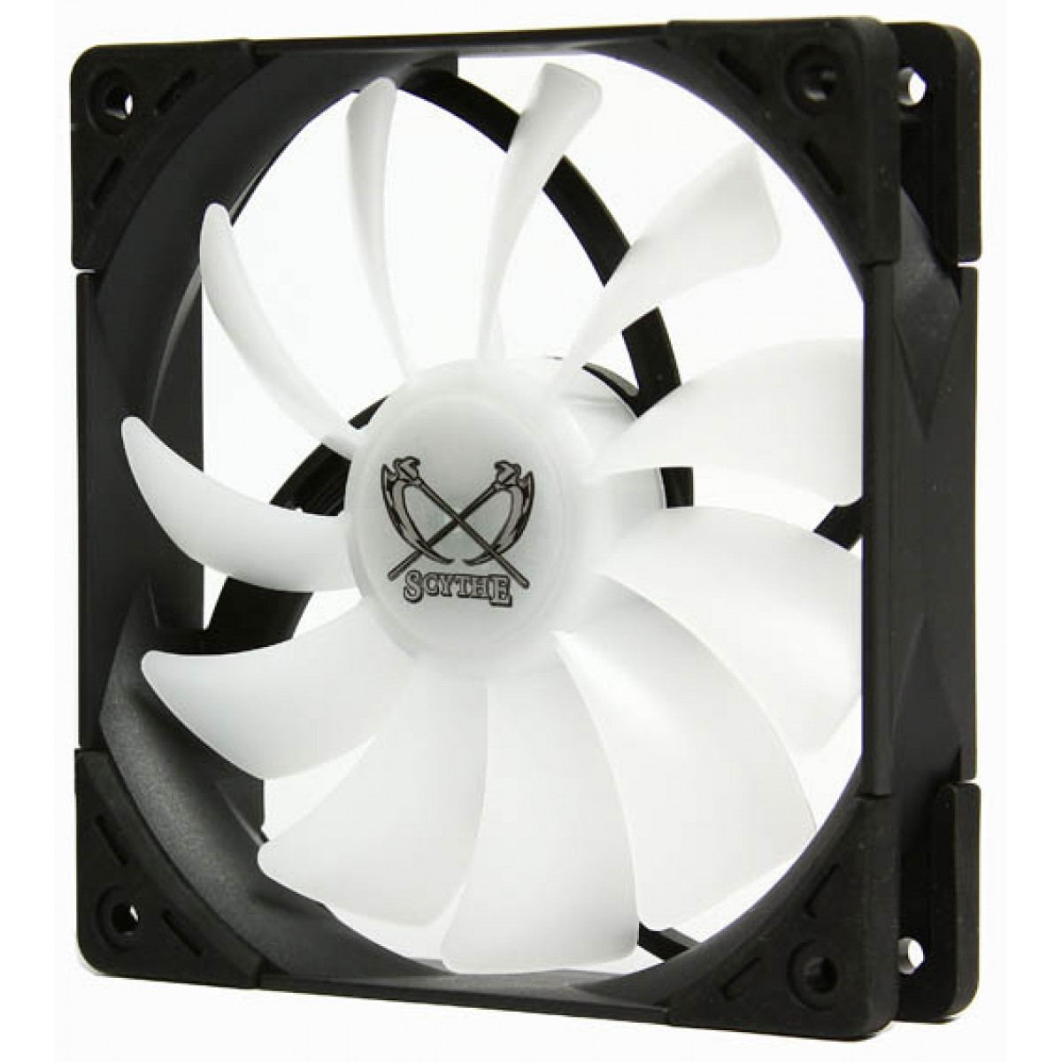 Cooler para Gabinete Scythe Kaze Flex 120 RGB PWM, 120mm 1.200 RPM, SU1225FD12MR-RHP