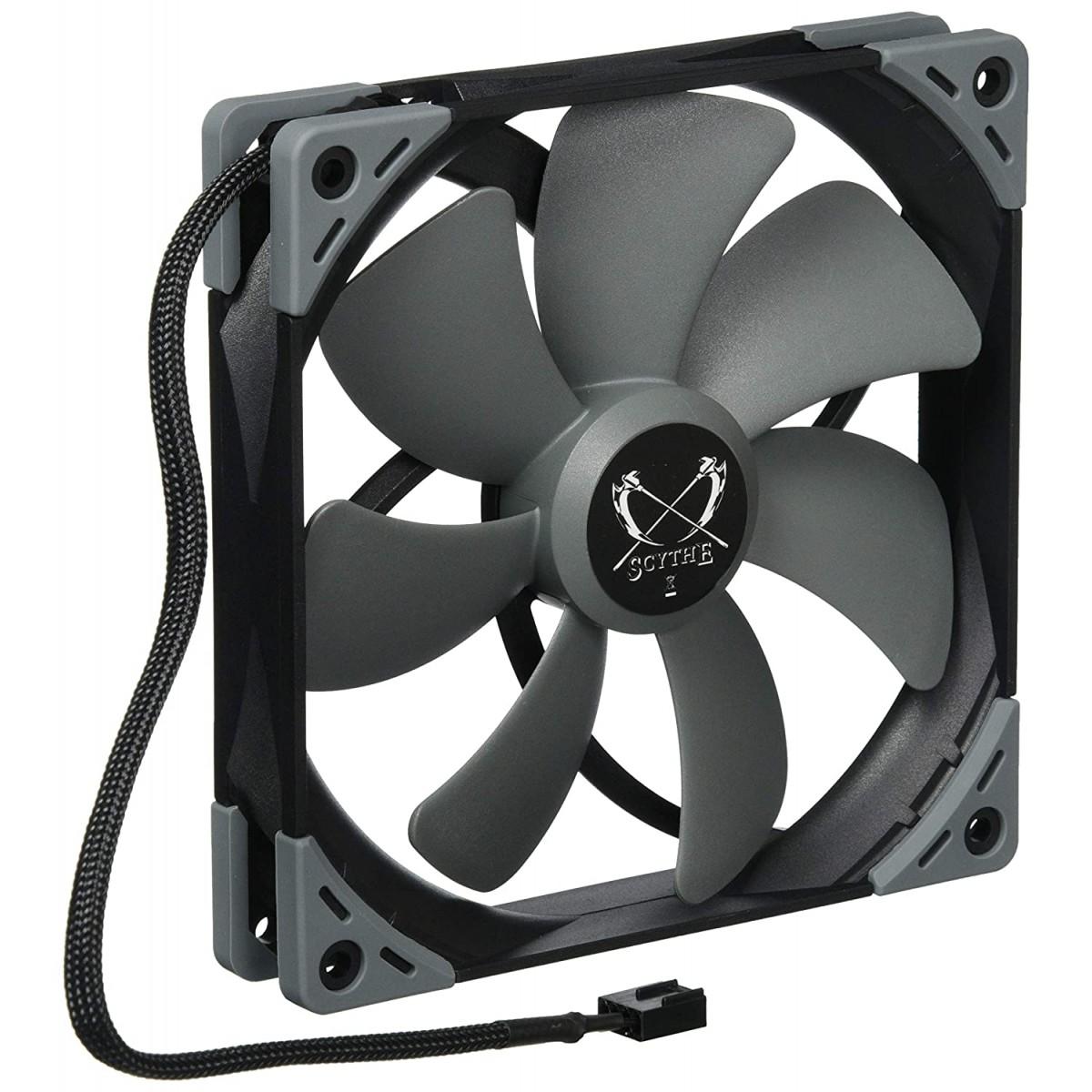 Cooler para Gabinete Scythe Kaze Flex 140, 140mm 1800 RPM, KF1425FD18S-P