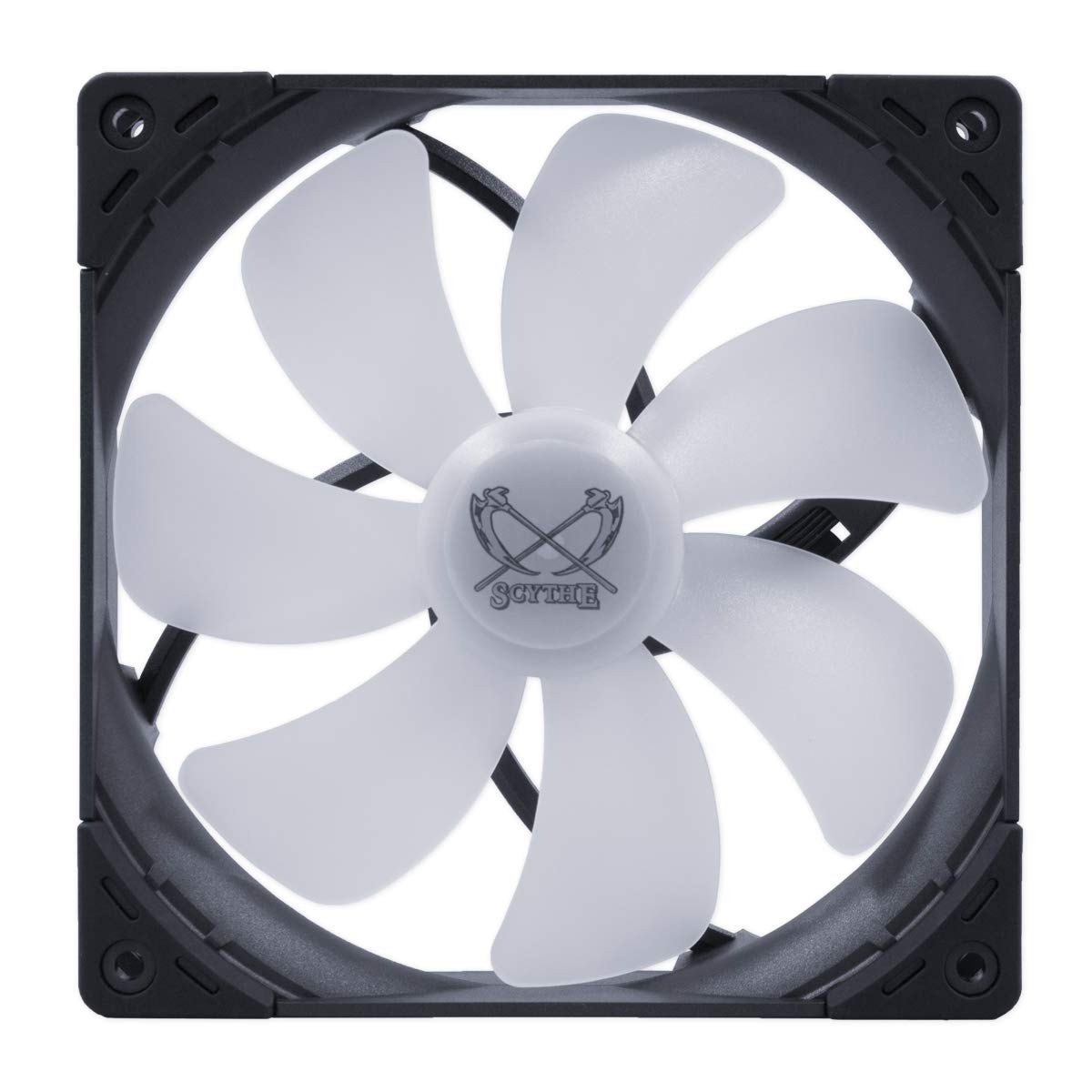 Cooler para Gabinete Scythe Kaze Flex 140 RGB, 140mm 1800 RPM, KF1425FD18SR-P
