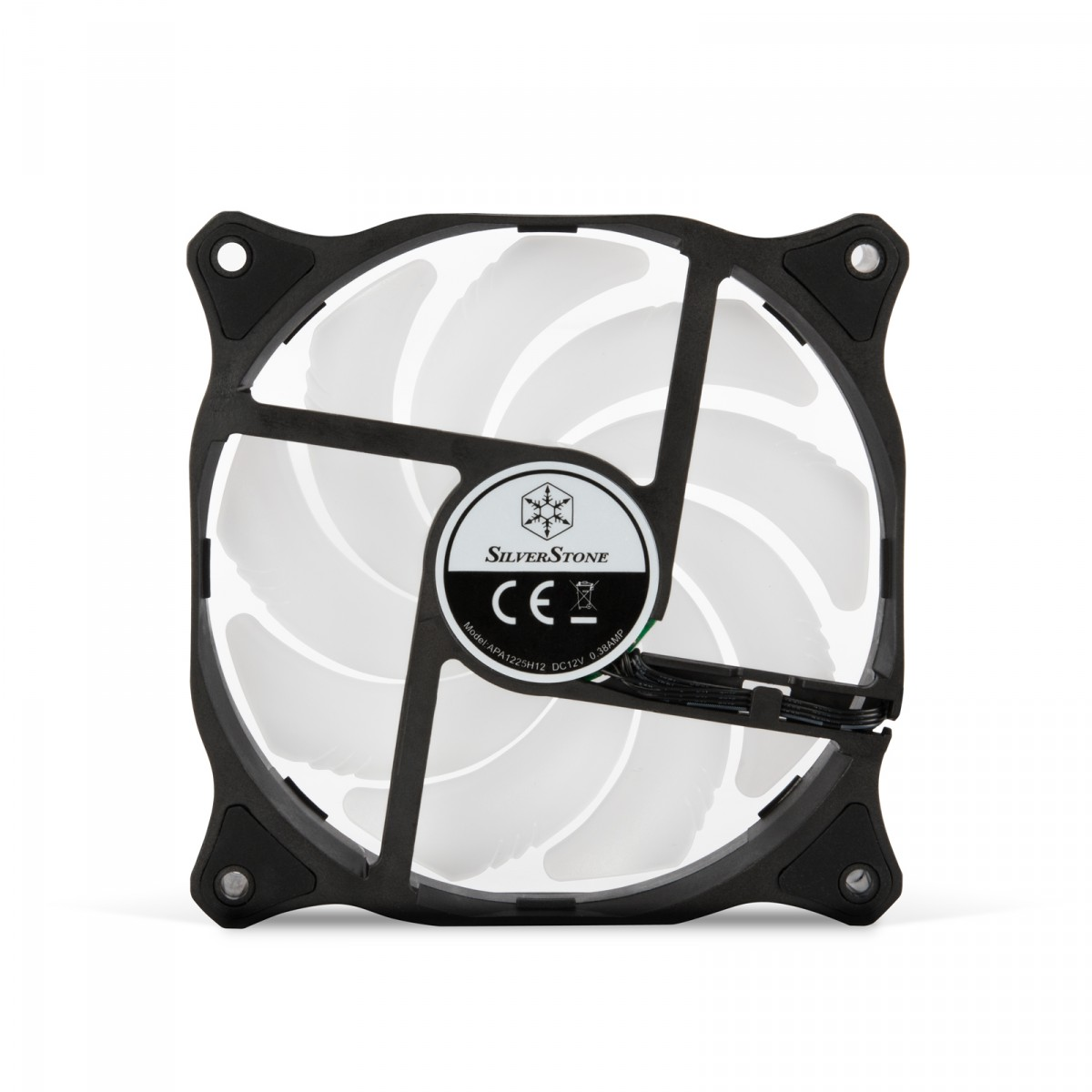Cooler para Gabinete SilverStone Air Blazer 120R, ARGB, 120mm, SST-AB120R-ARGB
