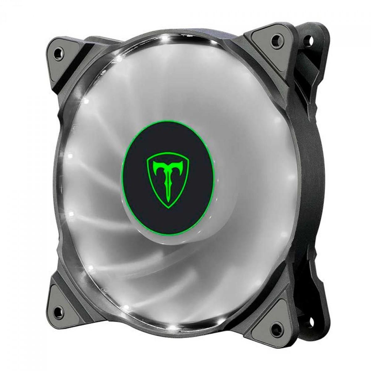 Cooler Para Gabinete T-Dagger 120mm, LED White, T-TGF300-W