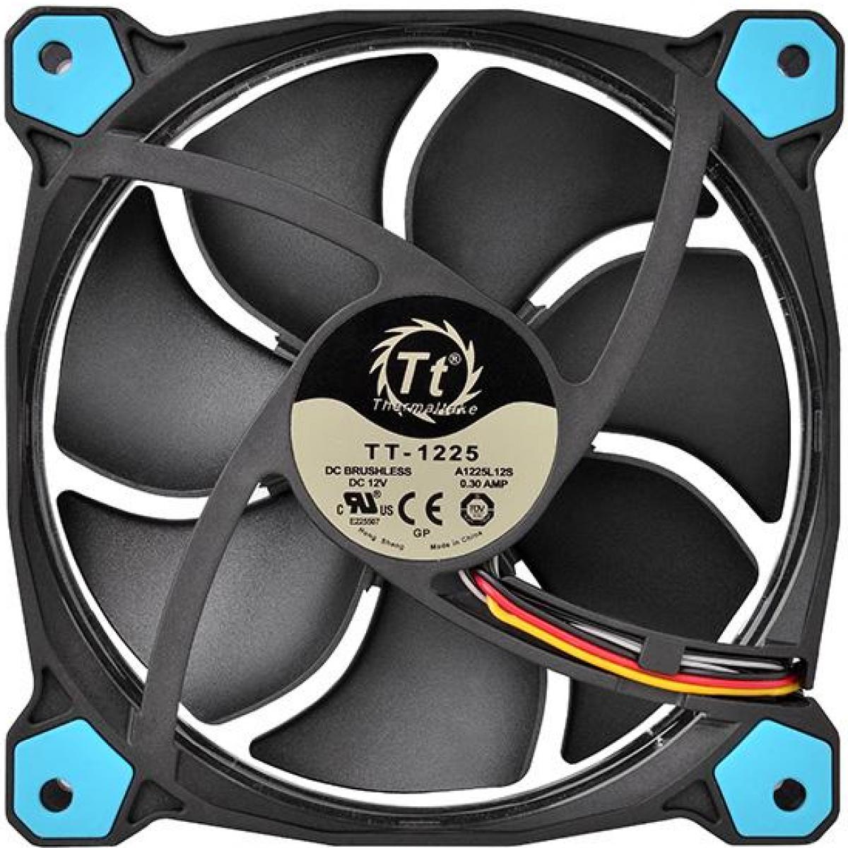 Cooler Para Gabinete Thermaltake Riing 14, LED Blue 140mm, CL-F039-PL14BU-A