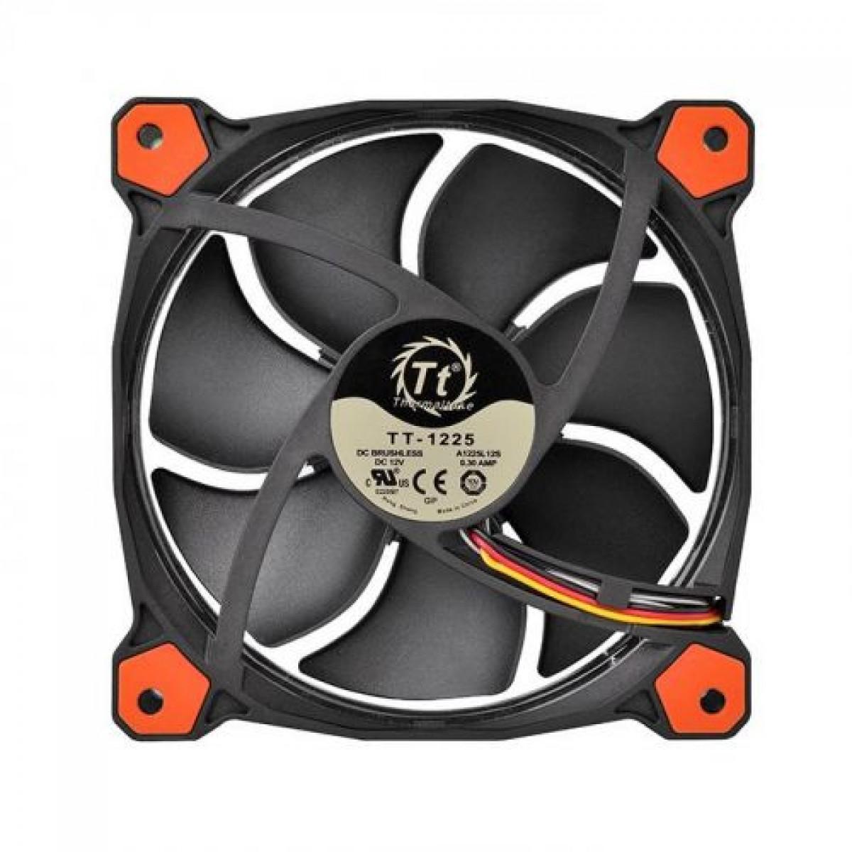 Cooler Para Gabinete Thermaltake Riing 14 LED Red CL-F039-PL14RE-A