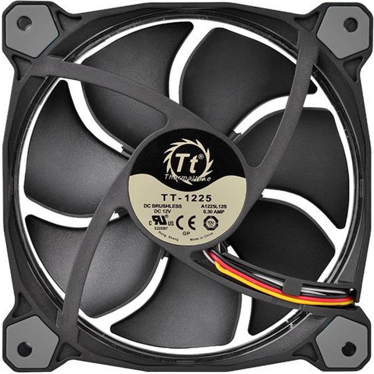 Cooler Para Gabinete Thermaltake Riing 14, LED White 140mm, CL-F039-PL14WT-A