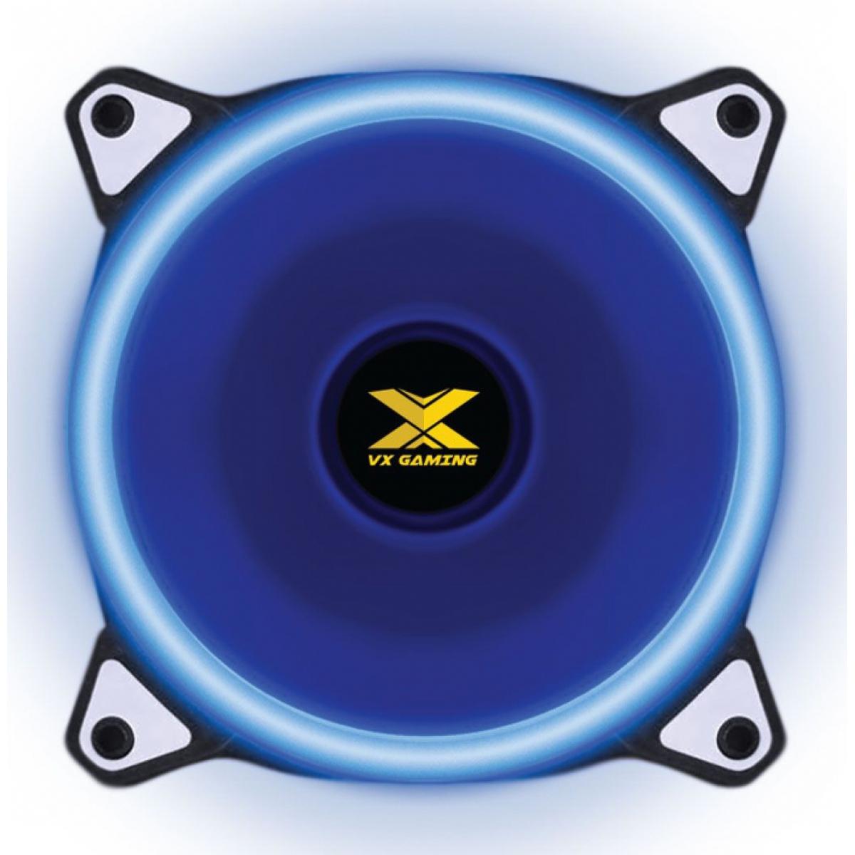 Cooler Para Gabinete VX GAMING V.Ring 120mm Angel de Led Azul