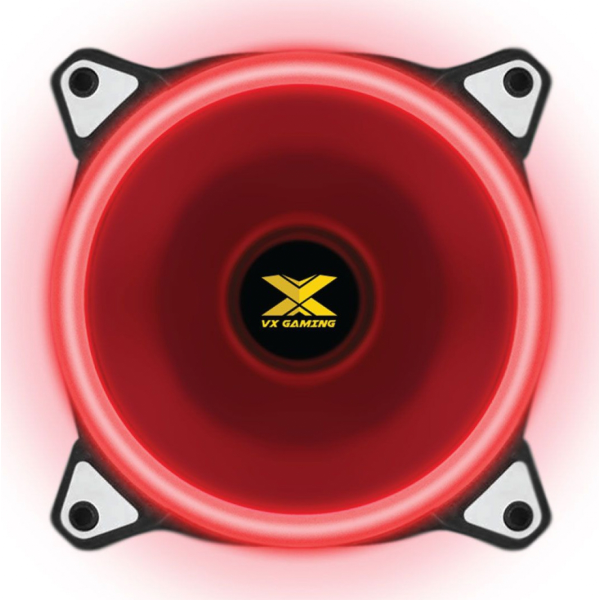 Cooler Para Gabinete VX Gaming V.Ring, LED Red 120mm