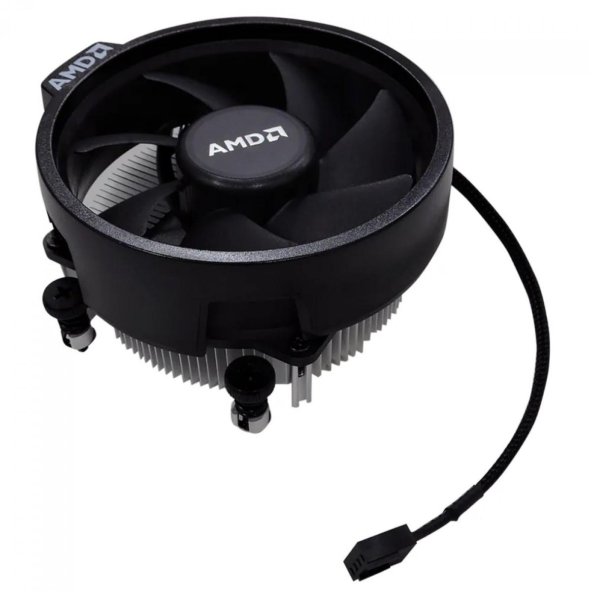 Cooler para Processador AMD Wraith Stealth, 92mm, AM4