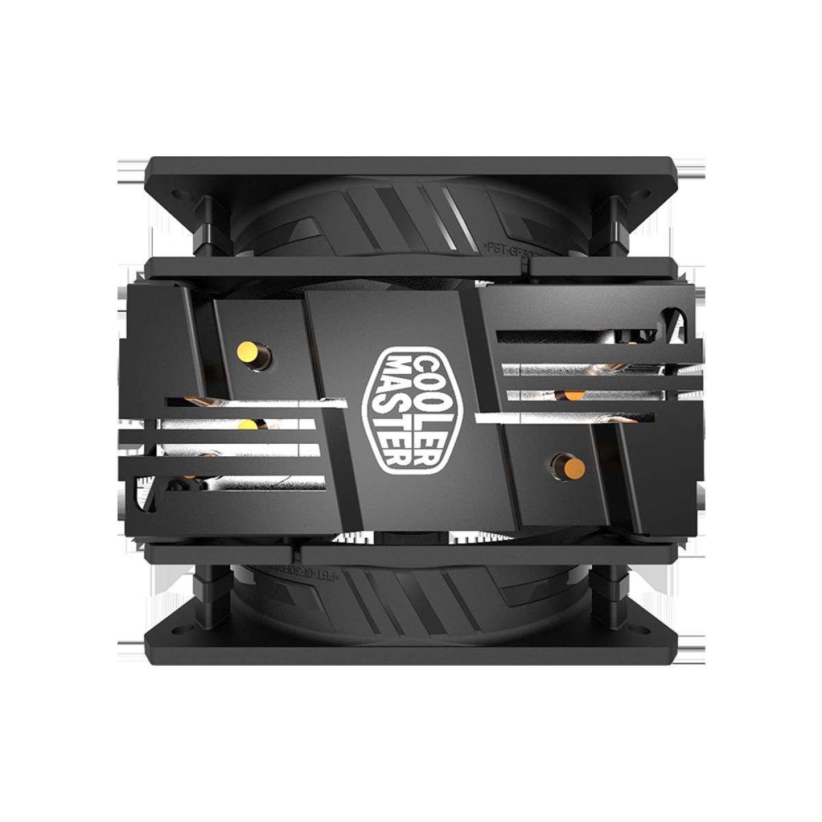 Cooler para Processador Cooler Master Hyper 212 Turbo ARGB 120mm, Intel-AMD, RR-212TK-18PA-R1