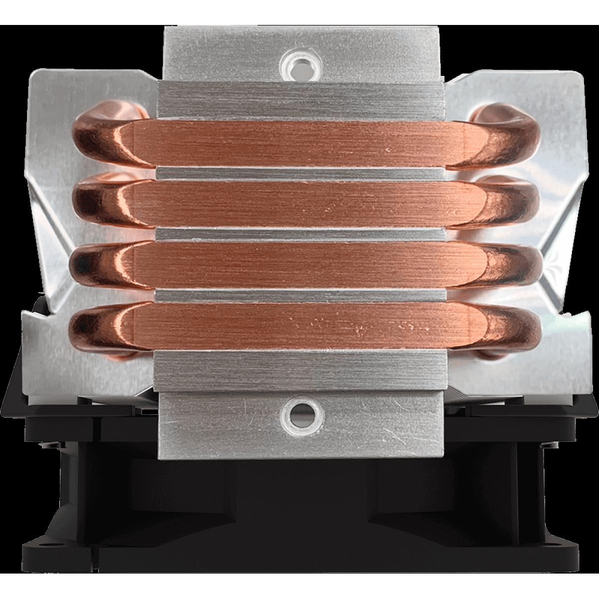 Cooler para Processador Cooler Master Hyper H410R, RGB, 92mm, Intel-AMD, RR-H410-20PC-R1