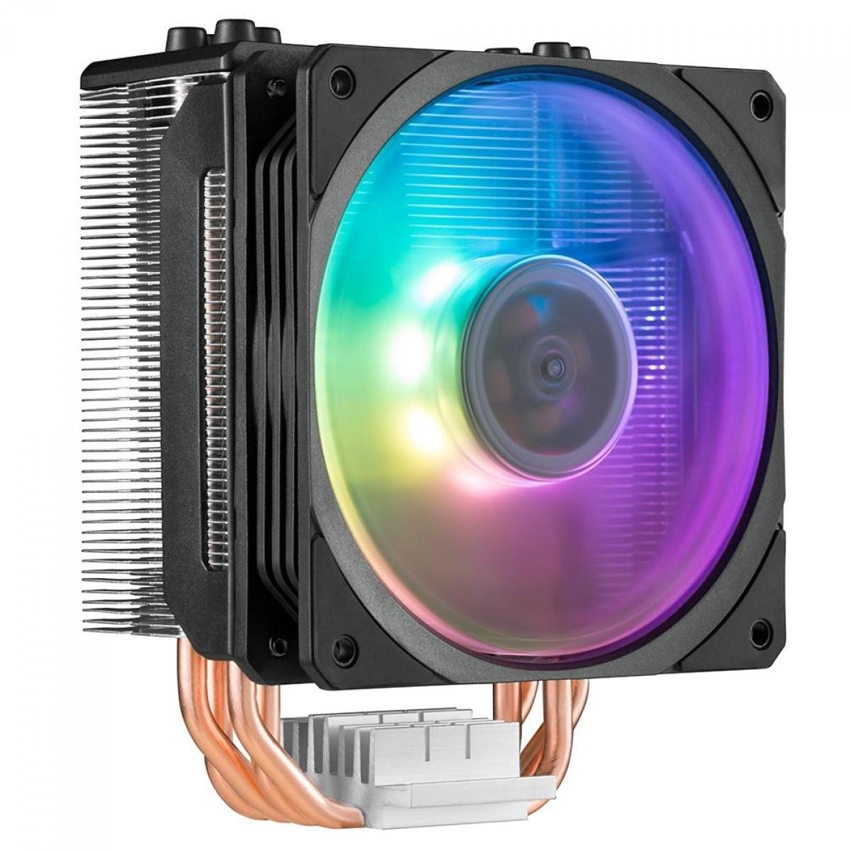 Cooler para Processador Cooler Master Hyper 212 Spectrum, Intel-AMD, RGB, RR-212A-20PD-R1