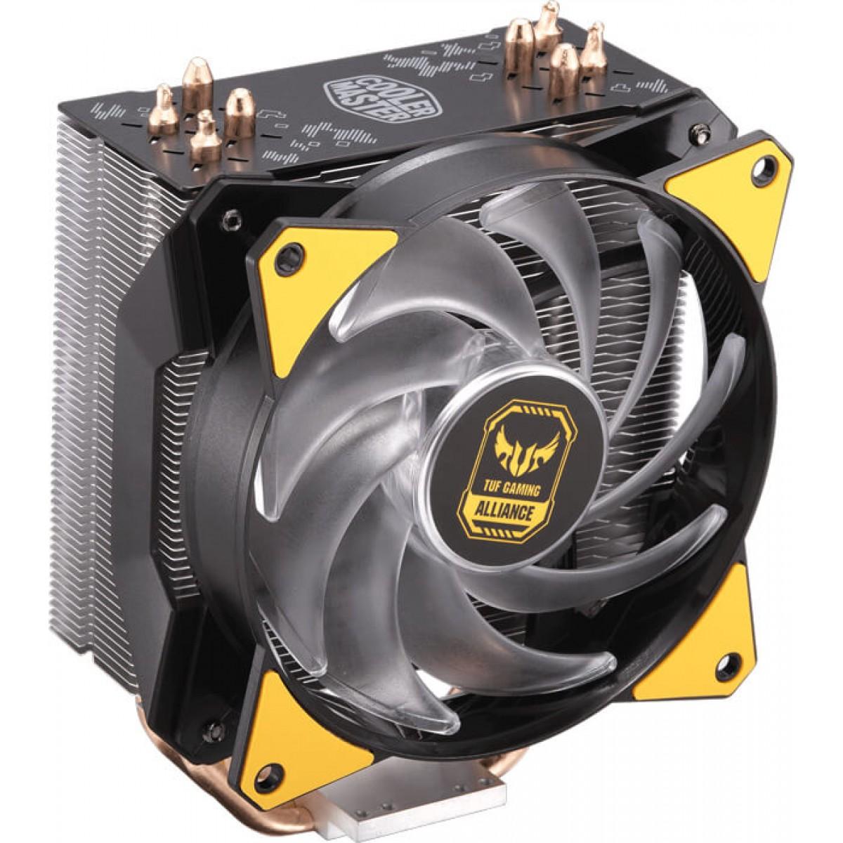 Cooler para Processador Cooler Master Masterair MA410P TUF RGB, Intel/AMD, MAP-T4PN-AFNPC-R1