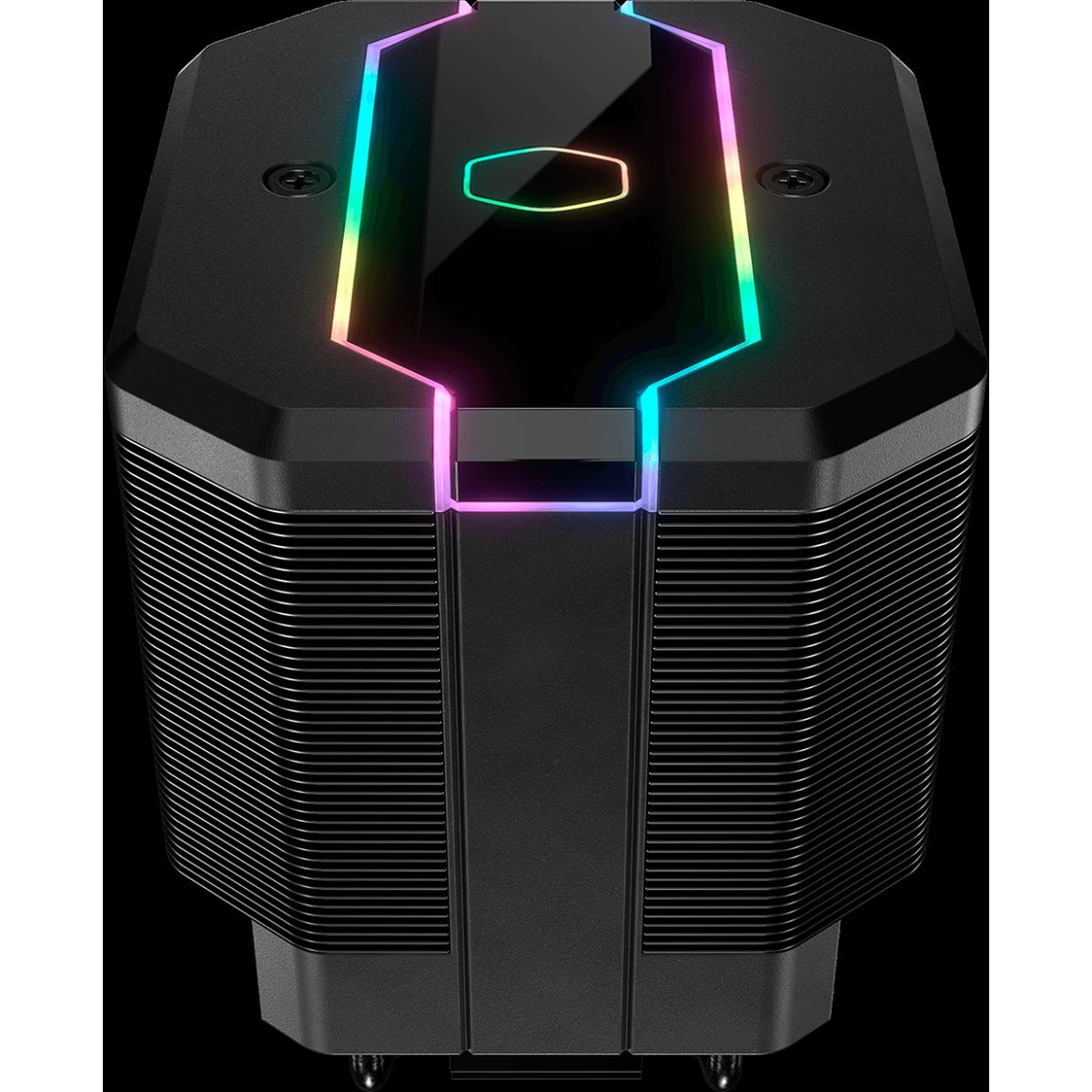 Cooler para Processador Cooler Master, Masterair MA620M RGB, 120mm, Intel-AMD, MAM-D6PN-120PA-R1