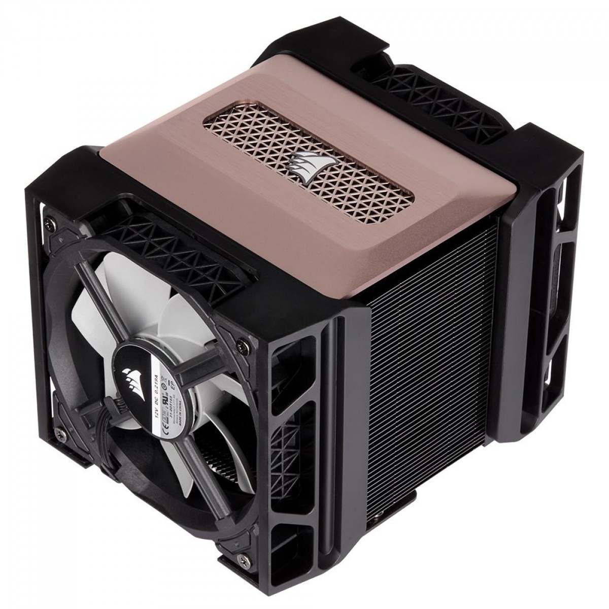 Cooler para Processador Corsair A500, Fan Duplo, Intel-AMD, CT-9010003-WW
