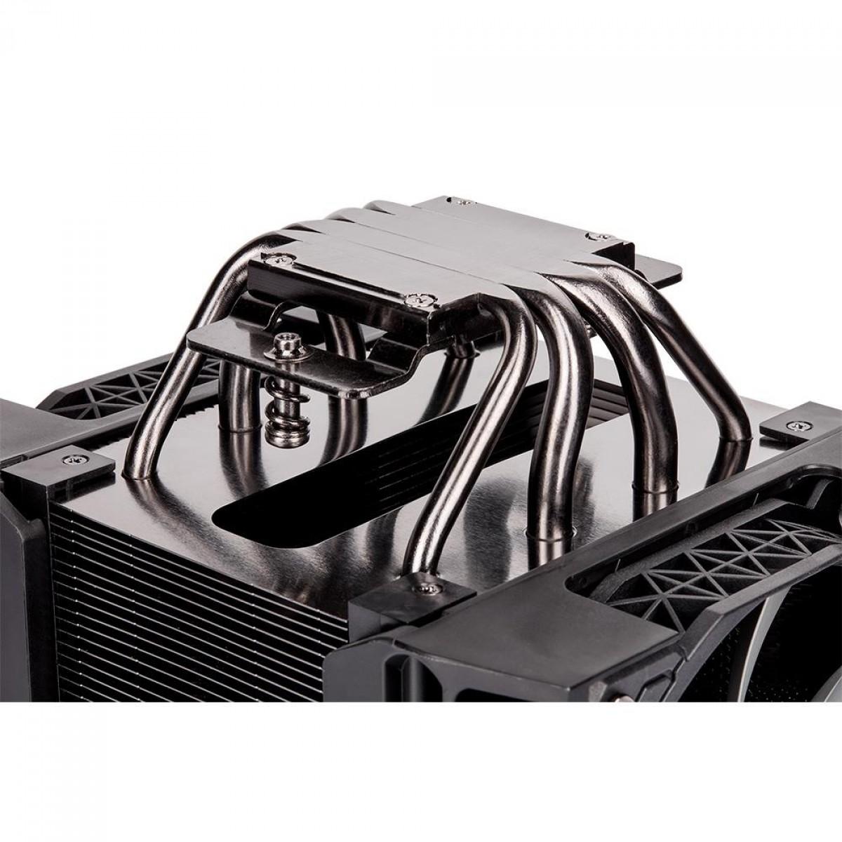 Cooler para Processador Corsair A500, Fan Duplo, Intel-AMD, CT-9010003-WW