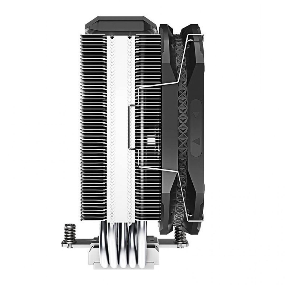 Cooler para Processador DeepCool AS500, ARGB, 120mm, Intel- AMD, R-AS500-BKNLMN-G