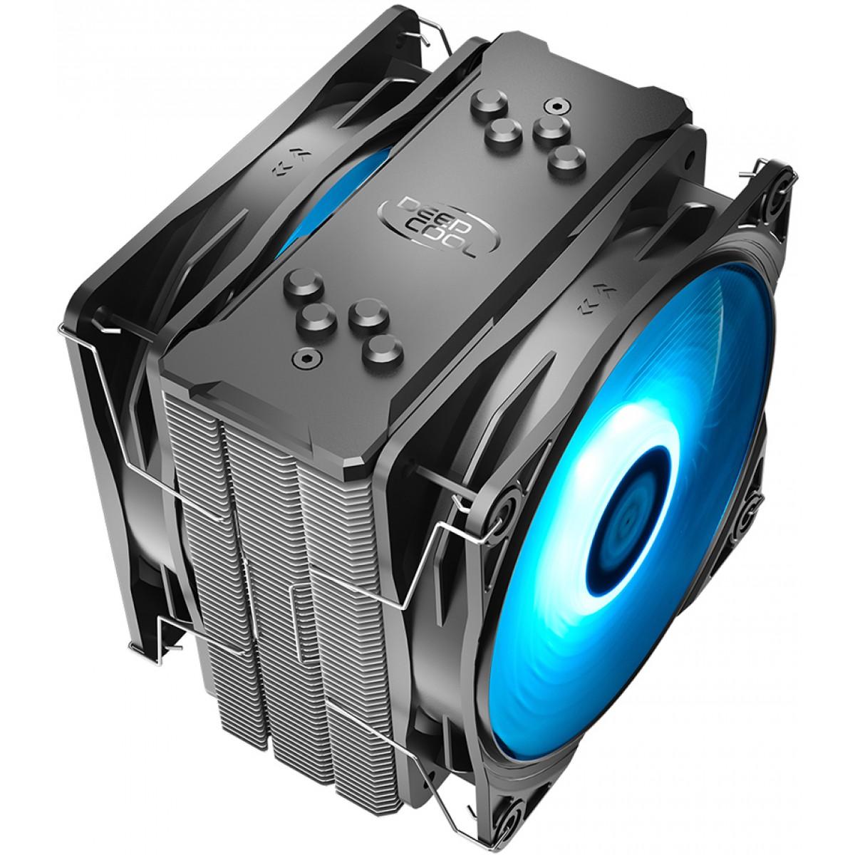 Cooler para Processador DeepCool Gammaxx 400 Pro, LED Blue 120mm, Intel-AMD, DP-MCH4-GMX400PRO-BL