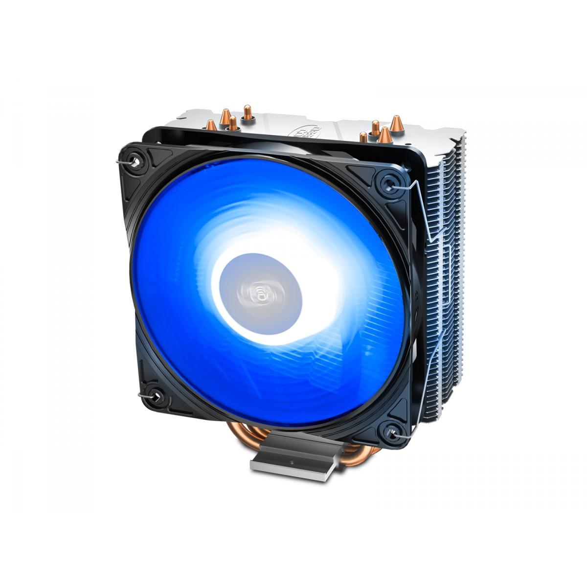 Cooler para Processador DeepCool Gammaxx 400 V2 Blue, 120mm, Intel-AMD, DP-MCH4-GMX400V2-BL