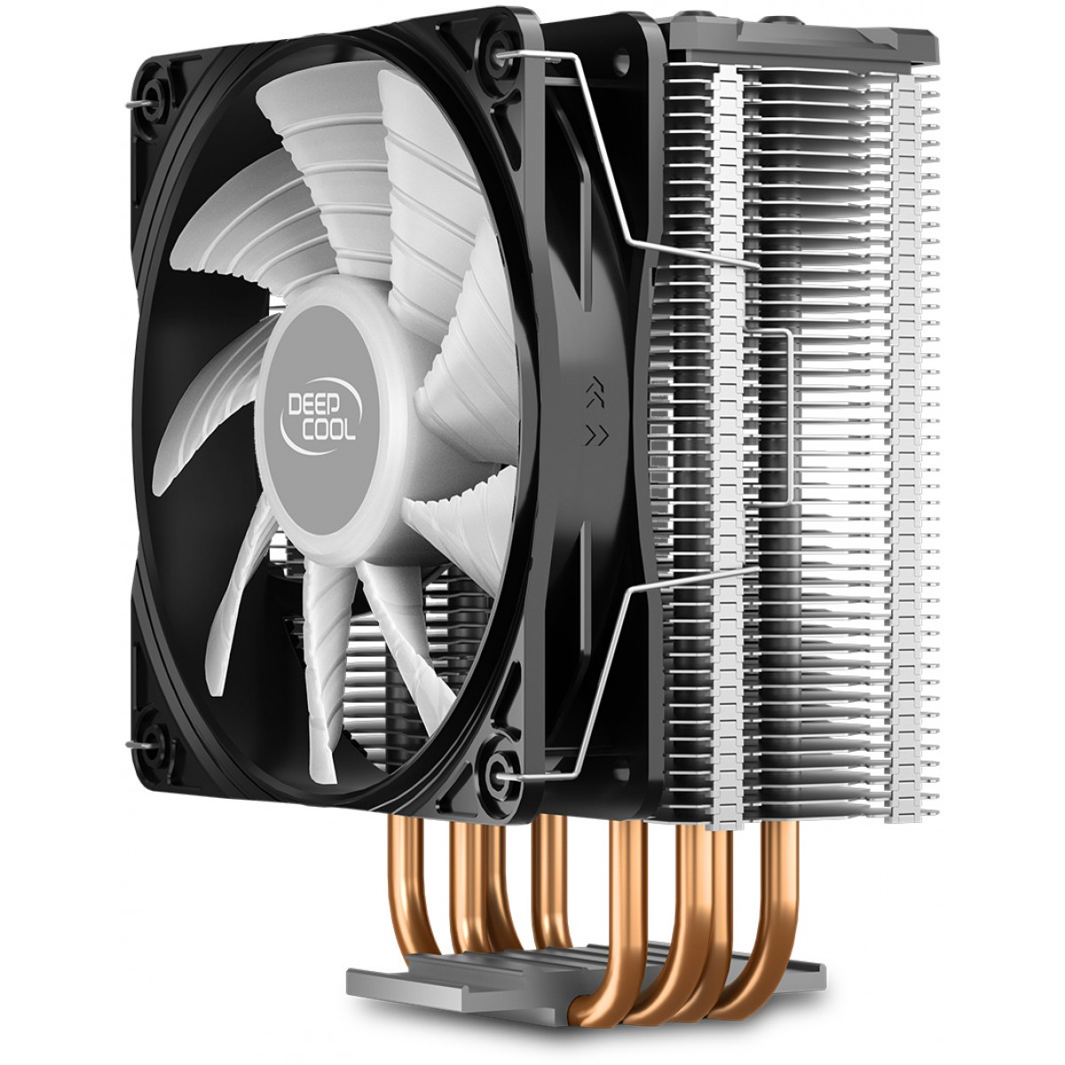 Cooler para Processador DeepCool Gammaxx GTE V2, LED RGB, 120mm, Intel-AMD, DP-MCH4-GMX-GTEV2