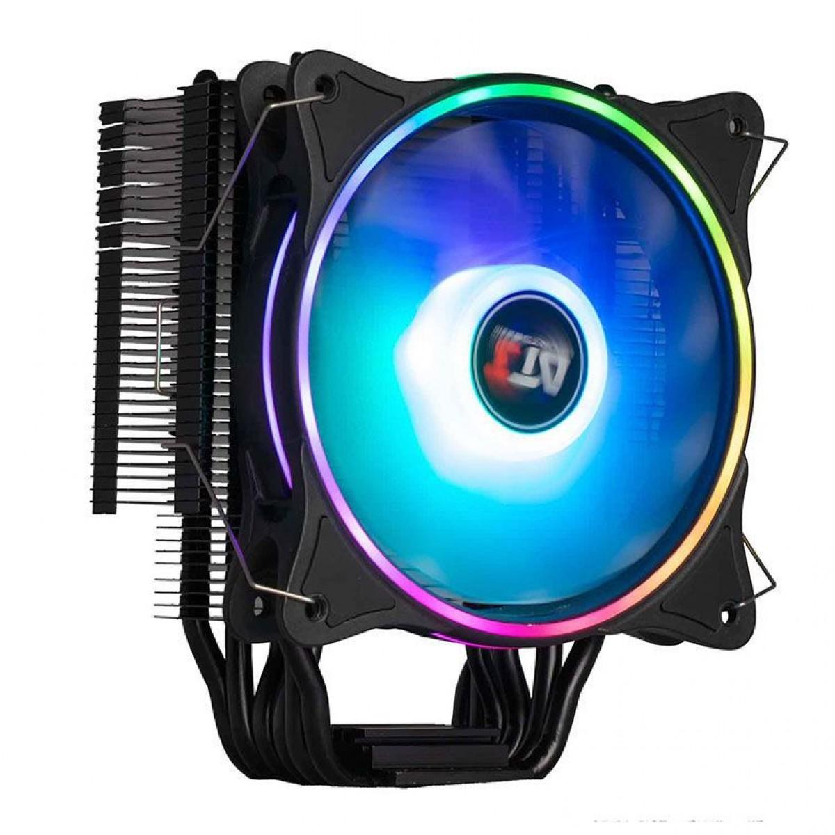 Cooler para Processador DT3Sports Wolf120 Sync Pro, ARGB, 120mm, Intel-AMD