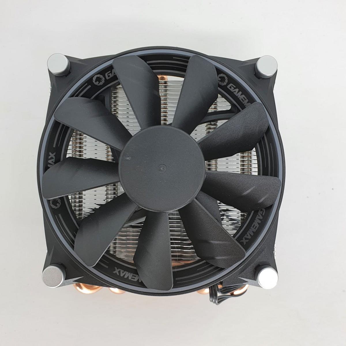 Cooler para Processador Gamemax Gamma 300, 120mm Intel-AMD, GMX Gamma 300 - Open Box
