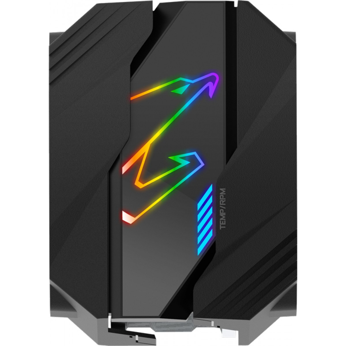 Cooler para Processador Gigabyte Aorus ATC800, Led RGB 120mm, Intel-AMD, Black