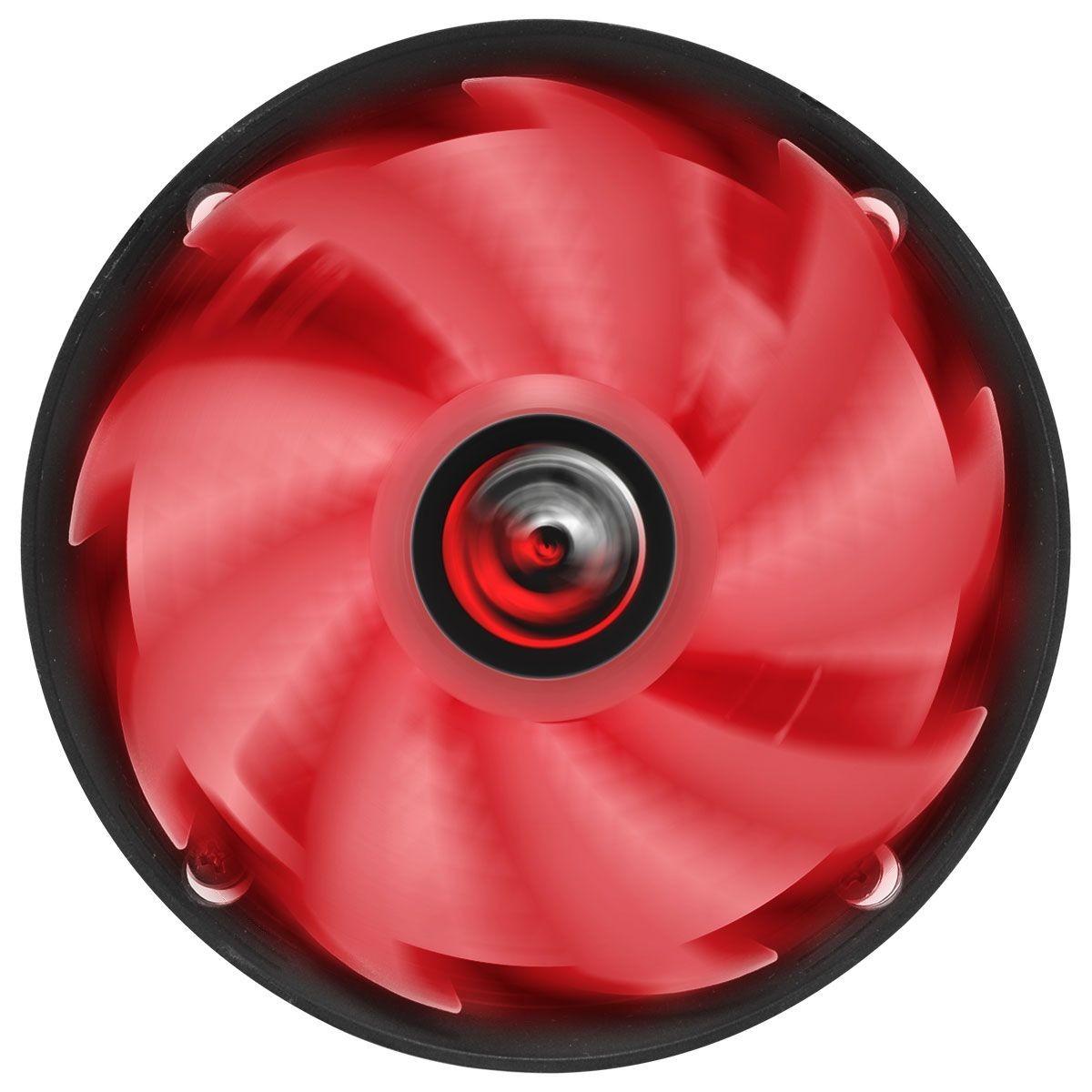Cooler para Processador Pcyes Nótus A, Led Red, 120mm, AMD, PAC120PTLV