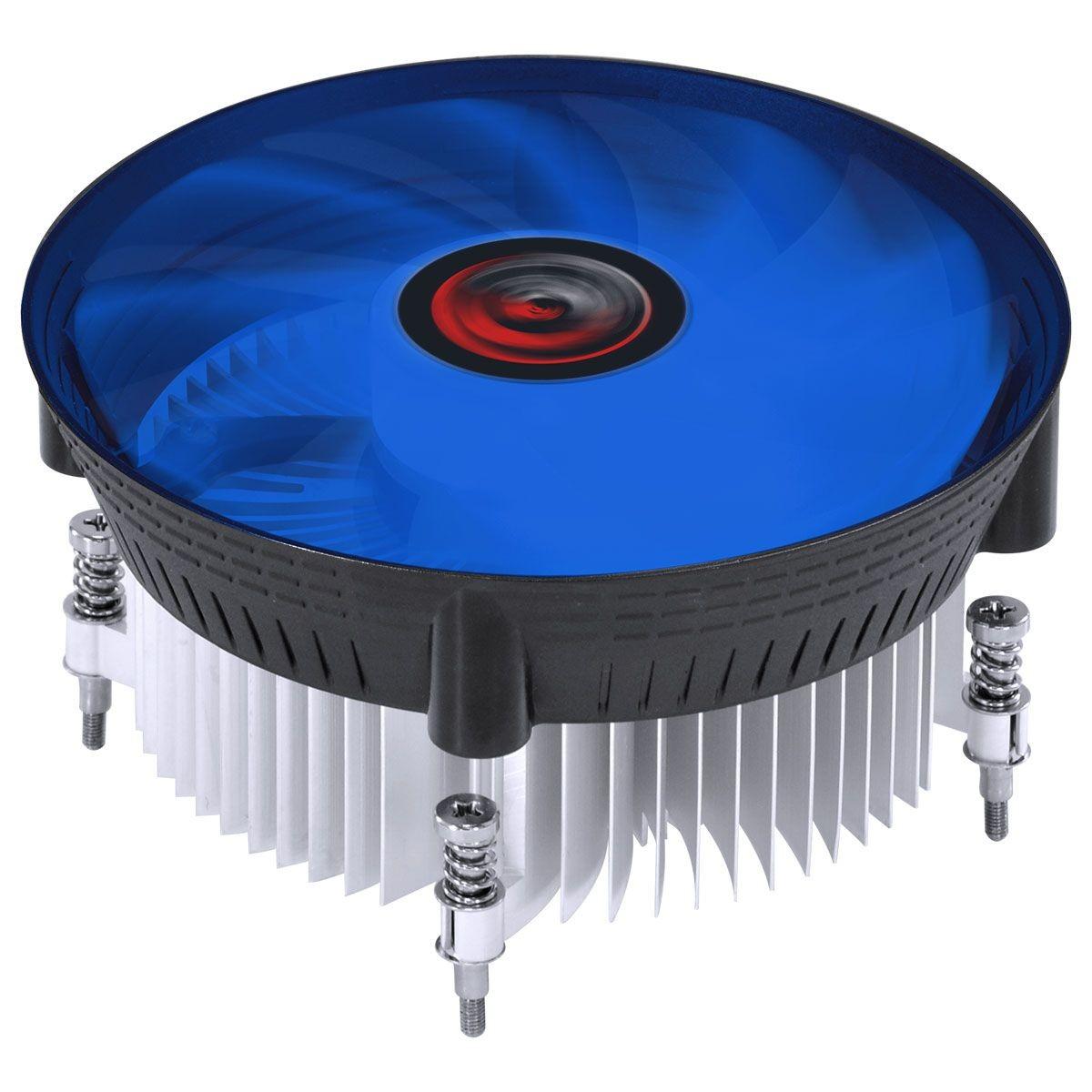 Cooler para Processador Pcyes Nótus I300, Led Blue, 120mm, Intel, PAC120PRLA