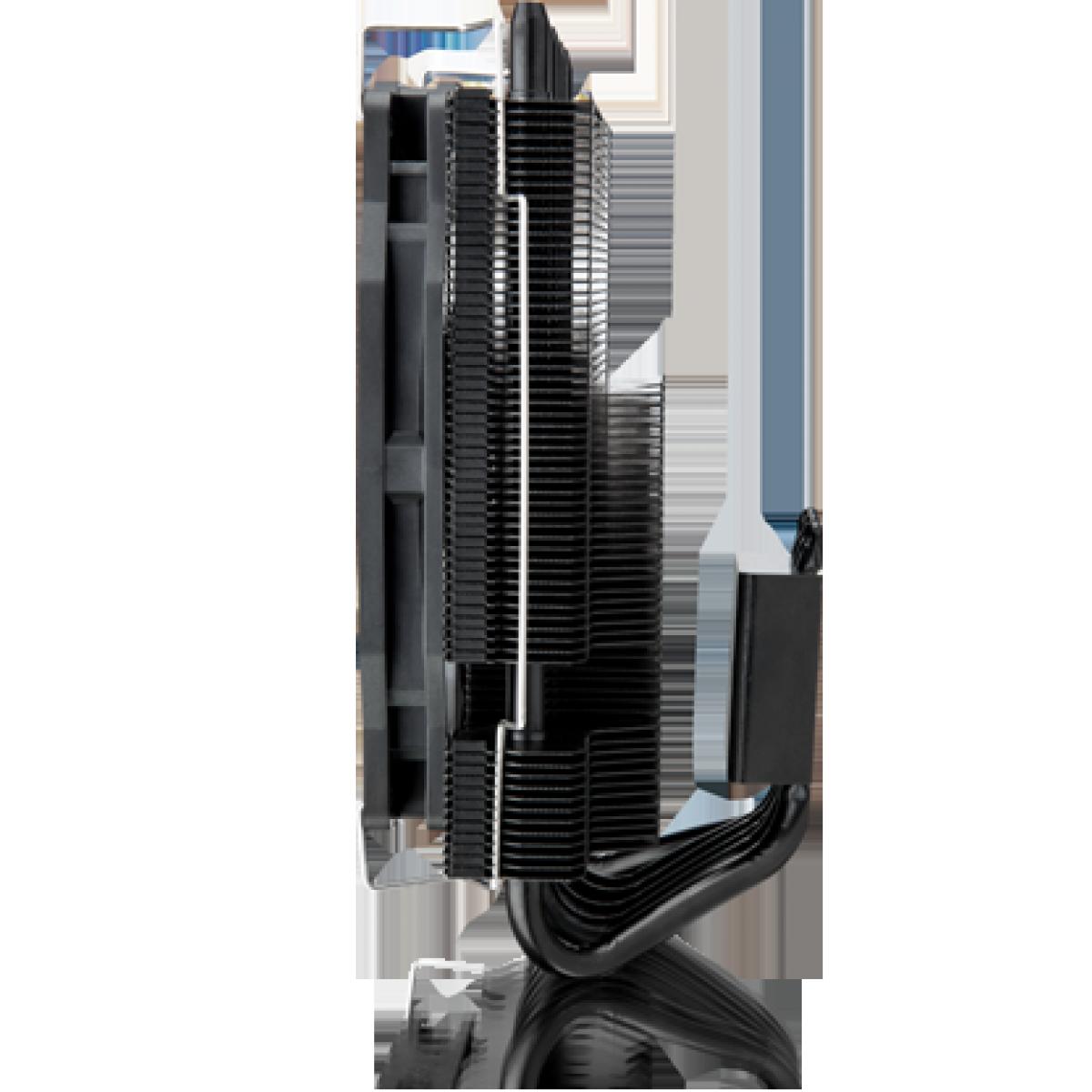 Cooler para Processador Raijintek Pallas 120 RGB, 120mm, Intel-AMD, 0R10B00121