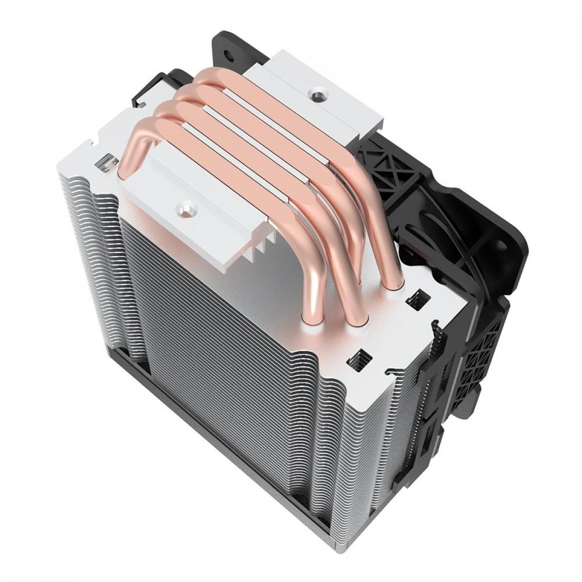 Cooler para Processador Redragon Effect, RGB, 120mm, Intel-AMD, CC-2000